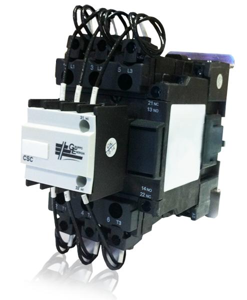 Контактор конденсаторный GE CSC25 25 кВАр 400В